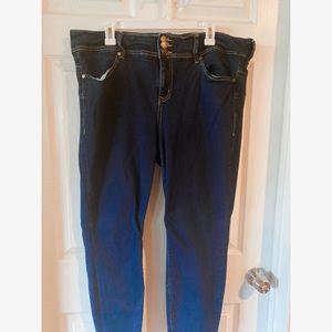 Lovesick size 20 dark wash jeans